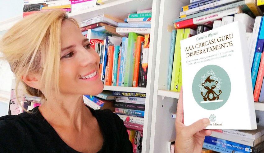 """Leggi l'intervista di Barbara a Camilla Ripani, autrice del libro """"AAA Cercasi Guru Disperatamente""""."""
