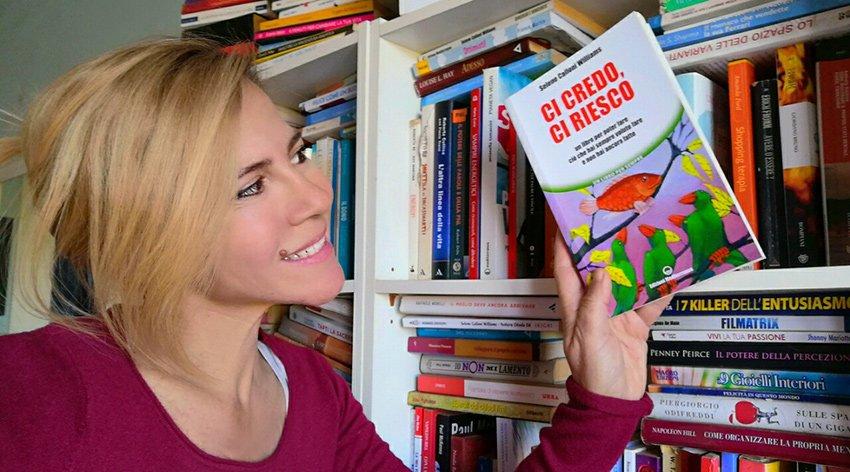 """Barbara ha intervistato Selene Calloni Williams, autrice del libro """"Ci Credo, Ci Riesco""""."""