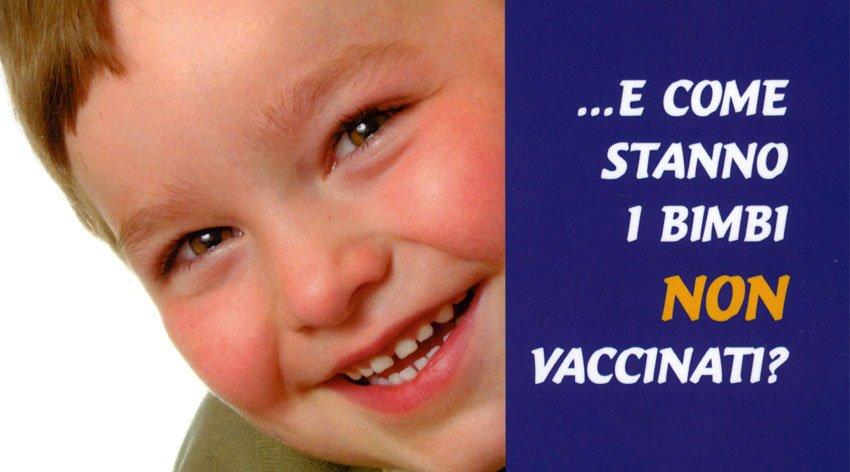 I bambini non vaccinati godono di buona salute