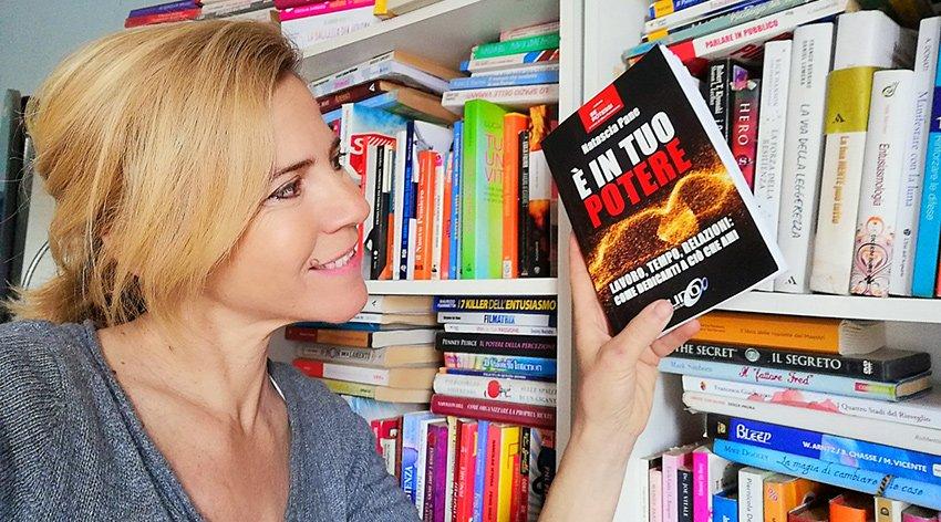 """Barbara ha intervistato Natascia Pane, autrice del libro """"È in tuo Potere""""."""