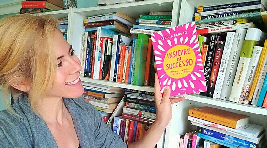 """Barbara ha intervistato Cecilia Sardeo, autrice del libro """"Insicure di Successo""""."""