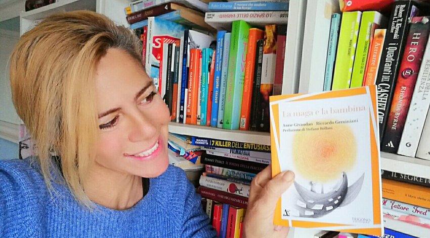 """Leggi l'intervista di Barbara a Anne Givaudan, autrice del libro """"La Maga e la Bambina""""."""