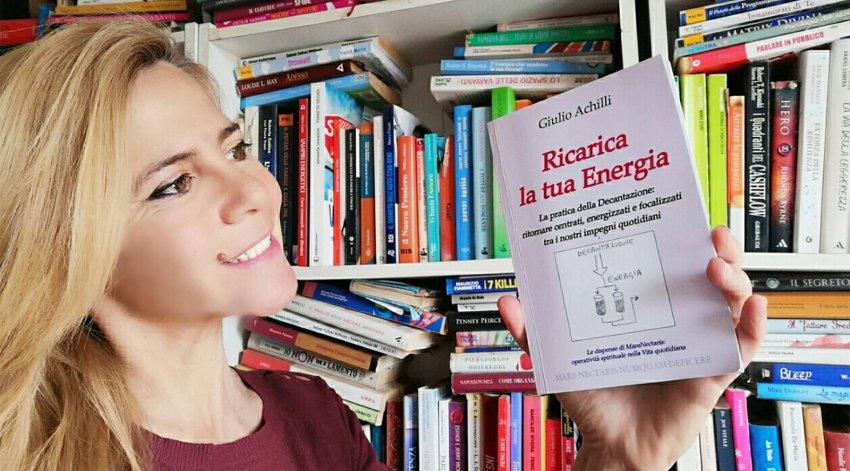 """Leggi l'intervista di Barbara a Giulio Achilli, autore del libro """"Ricarica la Tua Energia""""."""
