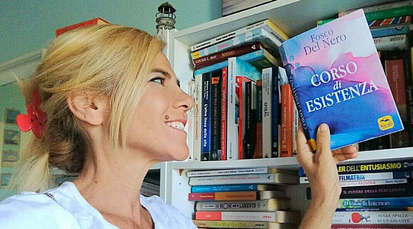 """Barbara ha intervistato Fosco del Nero, autore del libro """"Corso di Esistenza""""."""