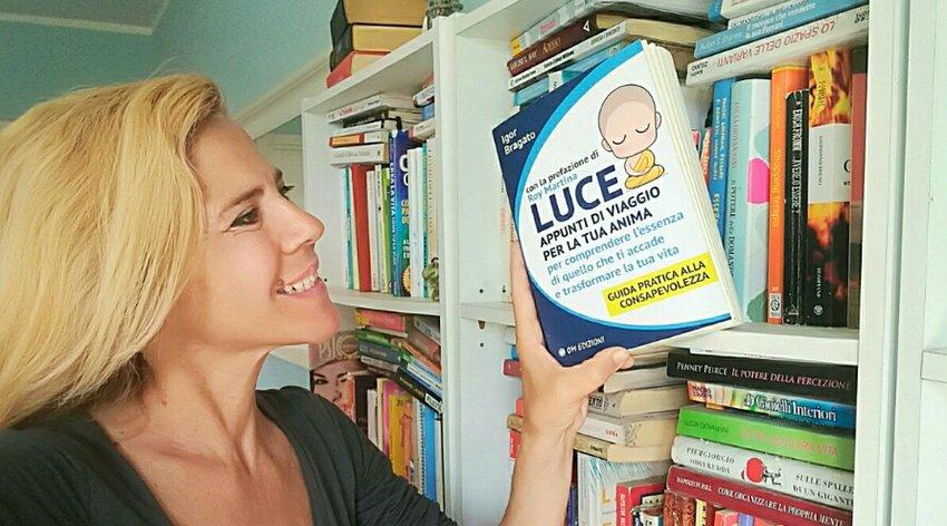 """Barbara ha intervistato Igor Bragato, autore del libro """"Luce - Appunti di viaggio per la tua Anima""""."""