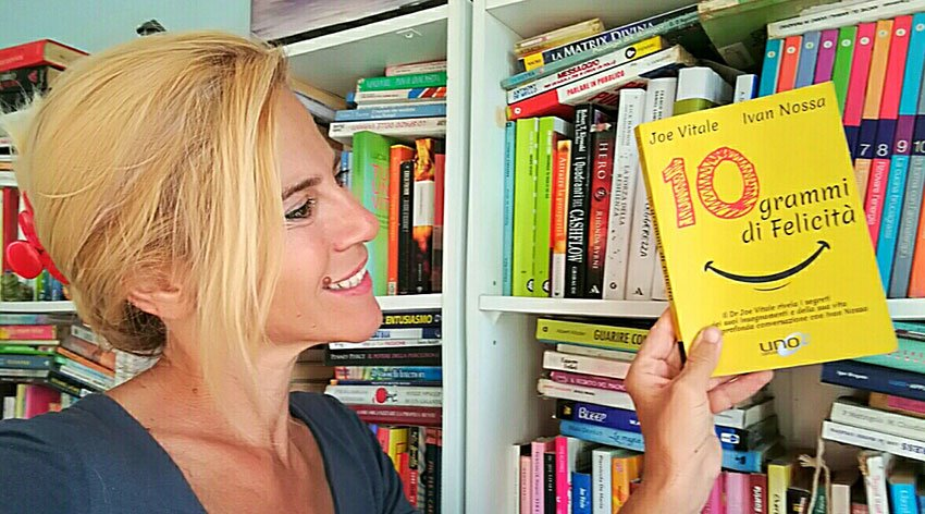 """Barbara ha intervistato Joe Vitale, co-autore del libro """"10 Grammi di Felicità""""."""