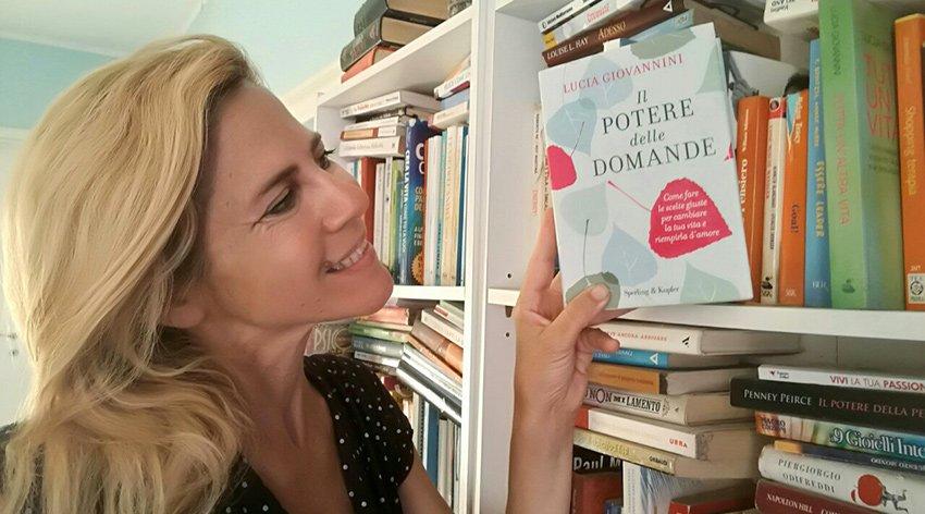 """Barbara ha intervistato Lucia Giovannini, autrice del libro """"Il Potere delle Domande""""."""