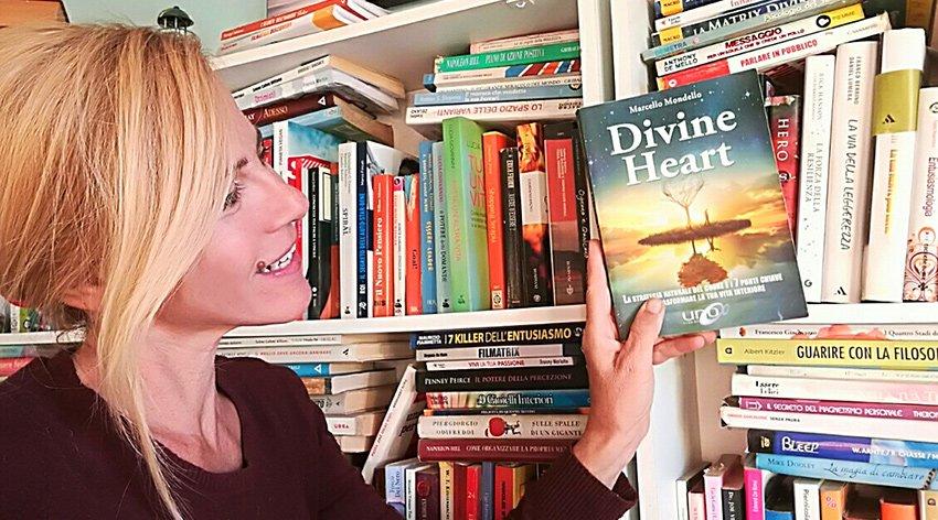 """Barbara ha intervistato Marcello Mondello, autore del libro """"Divine Heart""""."""