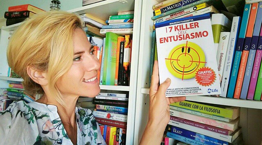 """Barbara ha intervistato Maurizio Fiammetta, autore del libro """"I 7 Killer dell'Entusiasmo""""."""