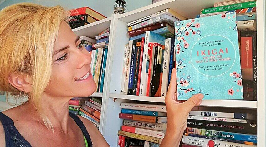 """Barbara ha intervistato Selene Calloni Williams, autrice del libro """"Ikigai. Ciò per cui vale la pena vivere""""."""