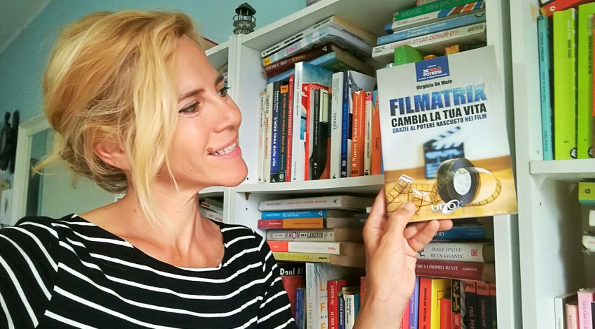 "Barbara ha intervistato Virginio De Maio, autore del libro ""Filmatrix""."