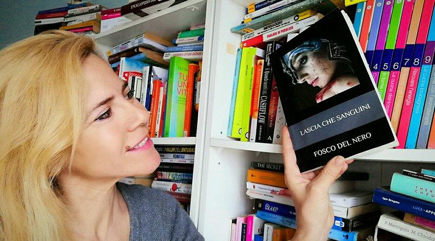 """Barbara ha intervistato Fosco del Nero, autore del libro """"Lascia che Sanguini""""."""