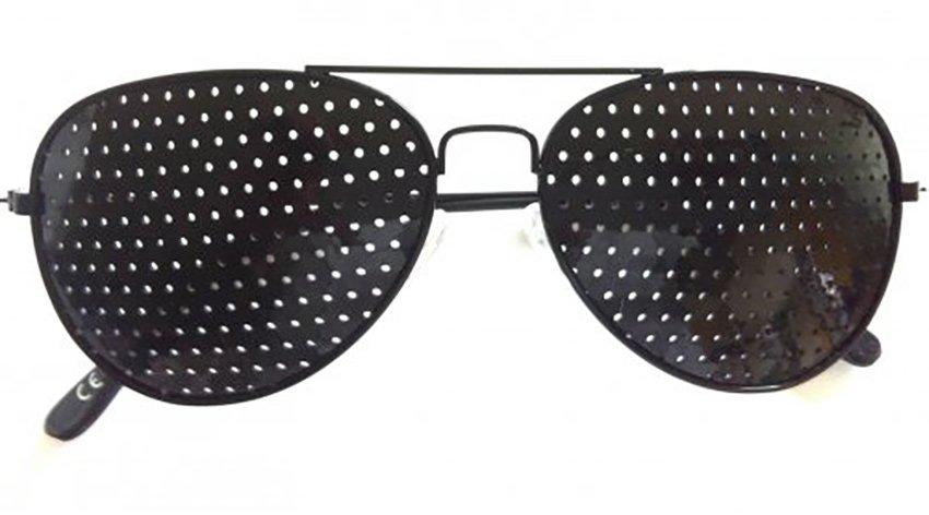 Come migliorare la vista grazie agli occhiali stenopeici