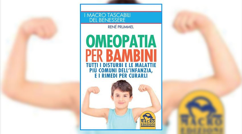 """Anteprima del libro """"Omeopatia per Bambini"""" di R. Prummel"""