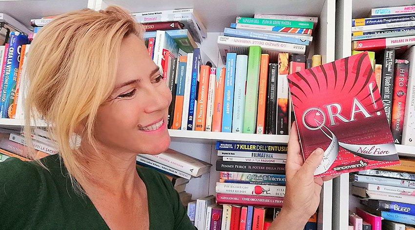"""Barbara ha intervistato Neil Fiore, autore del libro """"Ora!"""""""