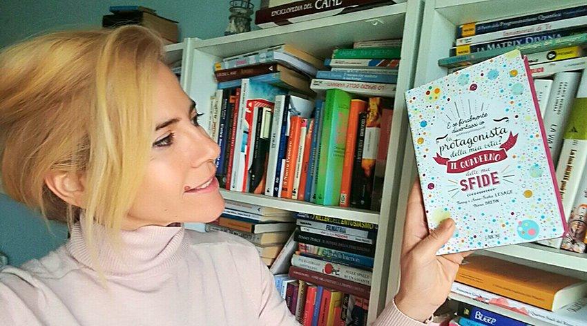 """Barbara ha intervistato Fanny e Anne-Sophie Lesage, autrici del libro """"Il Quaderno delle Mie Sfide""""."""