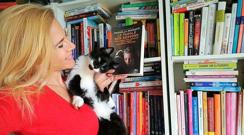 """Barbara ha intervistato Rossella Panigatti, autrice del libro """"Le Parole non Servono""""."""