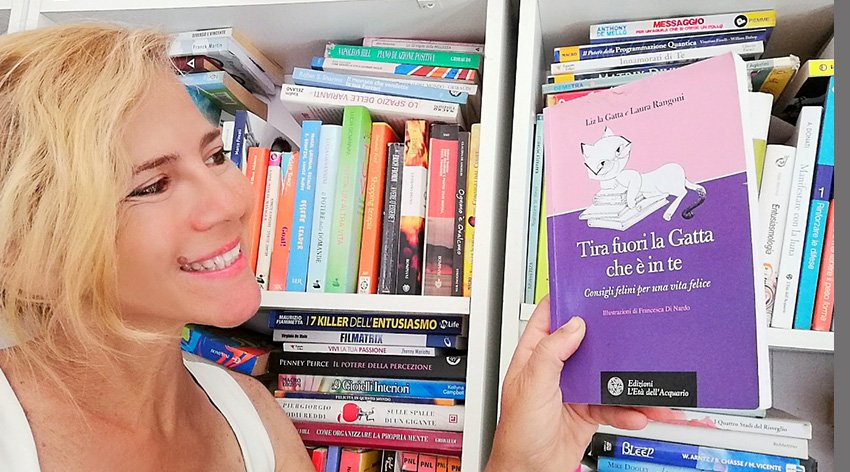 """Barbara ha intervistato Liz la Gatta, autrice insieme a Laura Rangoni del libro """"Tira Fuori la Gatta che è in Te""""."""