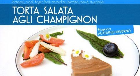 Torta Salata agli Champignon