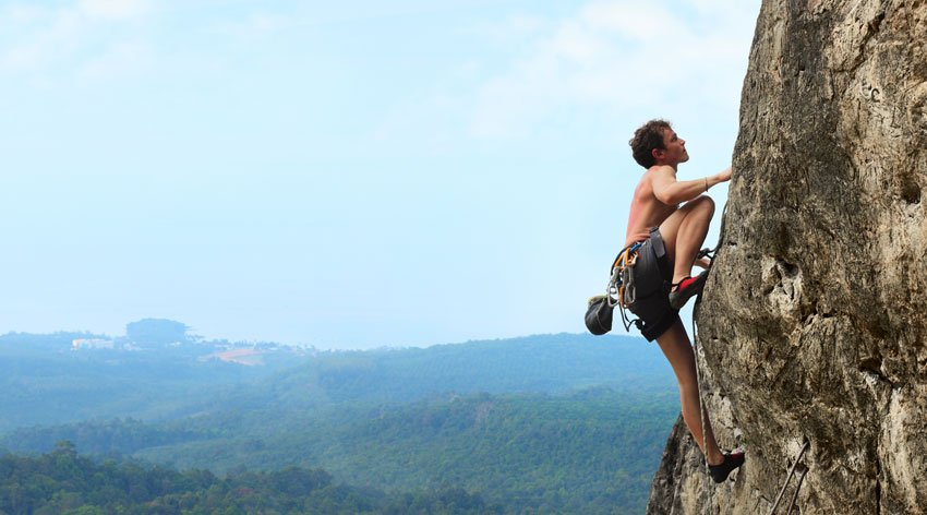 Conosci te stesso con l'arrampicata