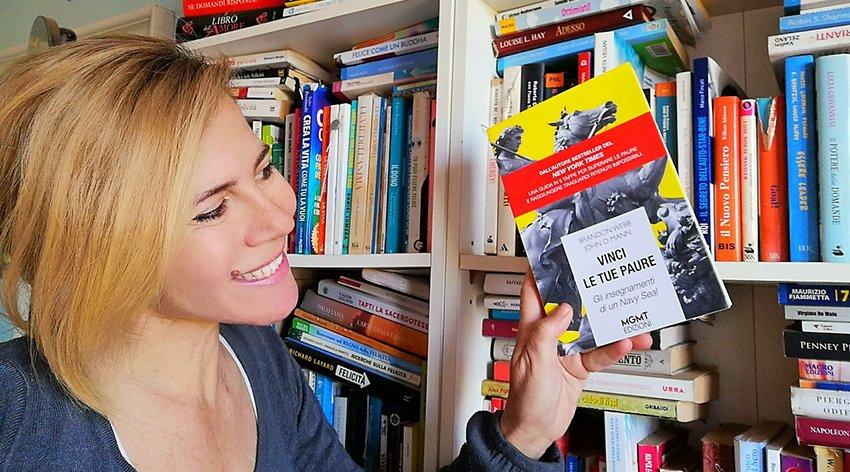 "Barbara ha intervistato John Mann, autore insieme a Brandon Webb del libro ""Vinci le tue Paure""."