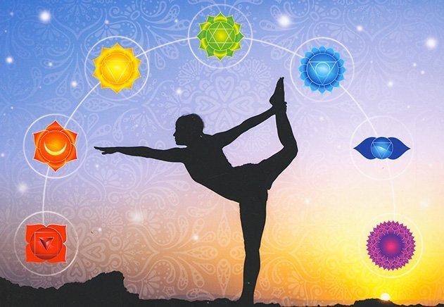 Chakra e posizioni yoga