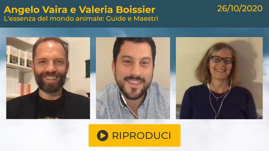 """Webinar Gratuito con Angelo Vaira e Valeria Boissier: """"L'essenza del mondo animale: Guide e Maestri"""""""