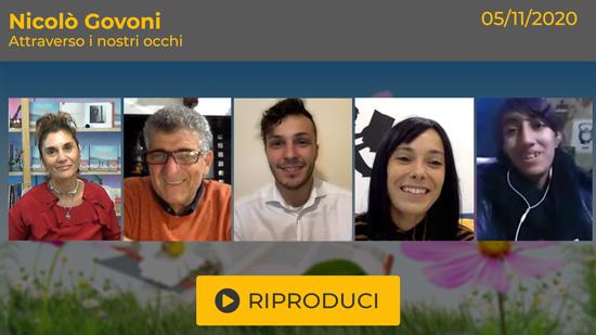 """Webinar Gratuito con Nicolò Govoni: """"Attraverso i Nostri Occhi"""""""