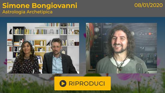 """Webinar Gratuito """"Astrologia Archetipica"""" con Simone Bongiovanni"""