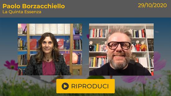"""Webinar Gratuito """"La Quinta Essenza"""" con Paolo Borzacchiello"""