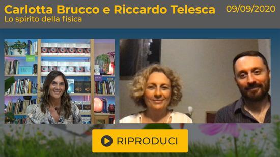 """Webinar Gratuito con Carlotta Brucco e Riccardo Telesca: """"Lo Spirito della Fisica"""""""