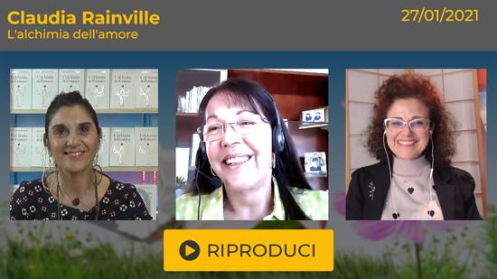 Webinar Gratuito con Claudia Rainville: L'Alchimia dell'Amore