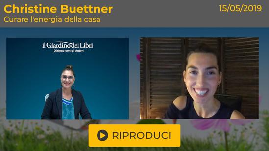 """Webinar Gratuito: """"Curare l'Energia della Casa"""" con Christine Buettner"""