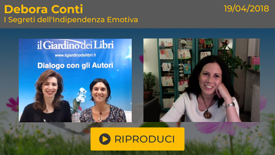 """Webinar Gratuito: """"I Segreti dell'Indipendenza Emotiva"""" con Debora Conti"""