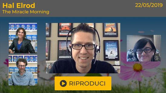 """Webinar Gratuito: """"The Miracle Morning"""" con Hal Elrod"""