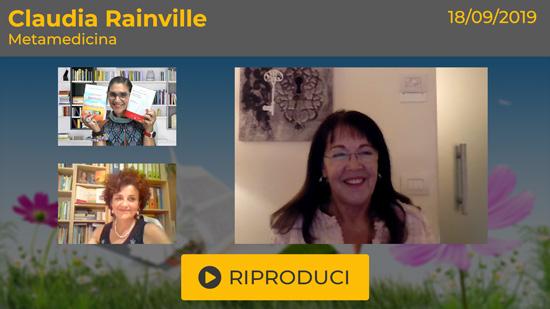 """Webinar Gratuito: """"Metamedicina"""" con Claudia Rainville"""