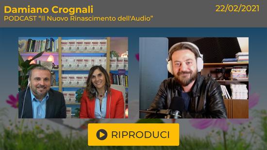 Webinar Gratuito con Damiano Crognali: Podcast - Come raccontare, pubblicare e promuovere storie da ascoltare