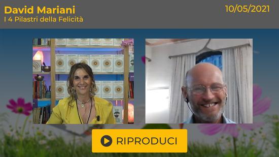 """Webinar Gratuito con David Mariani: """"I 4 Pilastri della Felicità"""""""