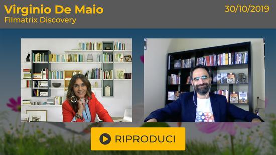 """Webinar Gratuito: """"Filmatrix Discovery"""" con Virginio De Maio"""