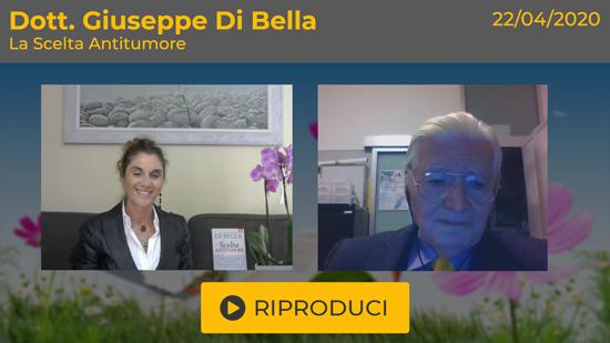 """Webinar Gratuito """"La Scelta Antitumore"""" con il Dott. Giuseppe Di Bella"""