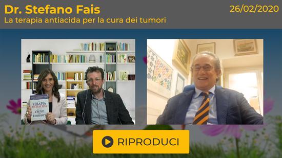 """Webinar Gratuito """"La Terapia Antiacida per la Cura dei Tumori"""" con il Dott. Stefano Fais"""