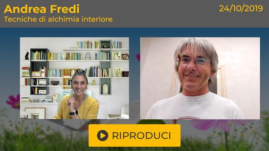 """Webinar Gratuito: """"Tecniche di alchimia interiore"""" con Andrea Fredi"""