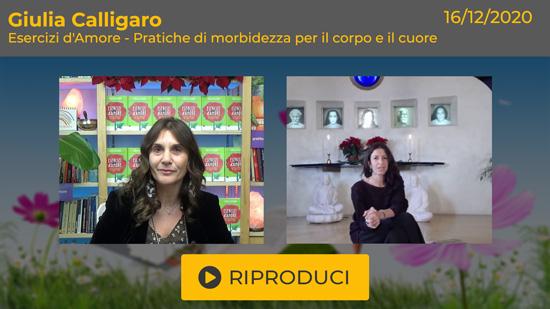"""Webinar Gratuito con Giulia Calligaro: """"Esercizi d'Amore"""""""