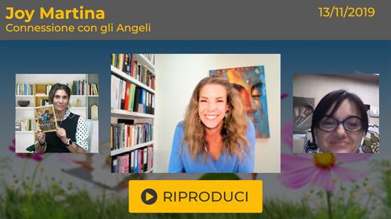 """Webinar Gratuito: """"Connessione con gli Angeli"""" con Joy Martina"""