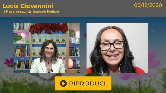 Webinar Gratuito con Lucia Giovannini: il Permesso di Essere Felice