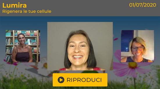 """Webinar Gratuito """"Rigenera le tue Cellule"""" con Lumira"""