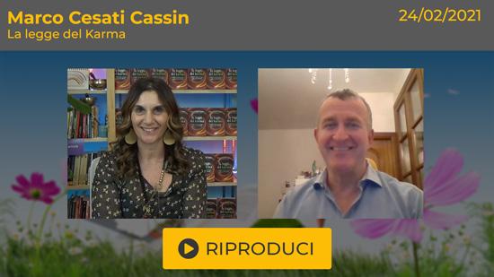 Webinar Gratuito con Marco Cesati Cassin: La Legge del Karma