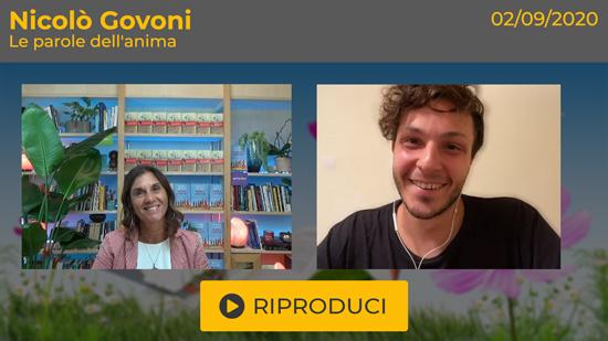 """Webinar Gratuito con Nicolò Govoni: """"Le Parole dell'Anima"""""""