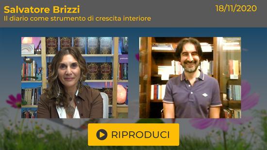 """Webinar Gratuito con Salvatore Brizzi """"Il Diario come strumento di crescita interiore"""""""