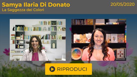 """Webinar Gratuito """"La Saggezza dei Colori"""" con Samya Ilaria Di Donato"""